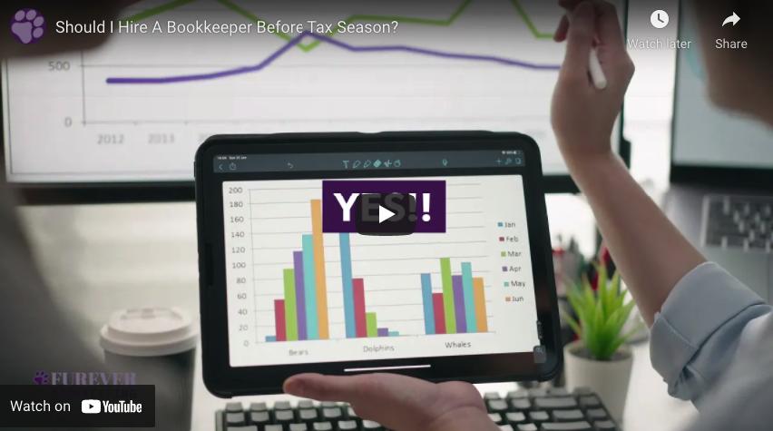 Should I Hire A Bookkeeper Before Tax Season? - Video Thumbnail
